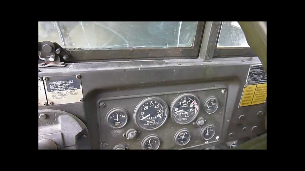 Starting Up the M35A2 Deuce & A Half on