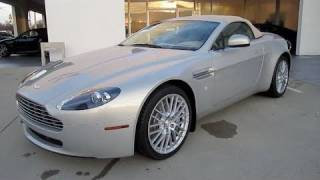 2011 Aston Martin V8 Vantage Roadster Start Up, Exhaust, and In Depth Tour