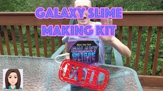Galaxy Slime Making Kit FAIL