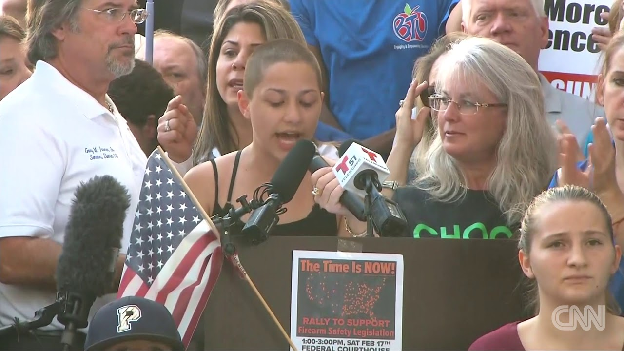Student Emma Gonzalez tells Trump We call BS' days after a gunman shot 17 people from her school recommend