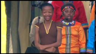 Botlhale Boikanyo performing at President Jacob Zuma