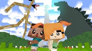 Monster School: SIREN HEAD VS GODZILLA ARMY FUNNY CHALLENGE - Minecraft Animation
