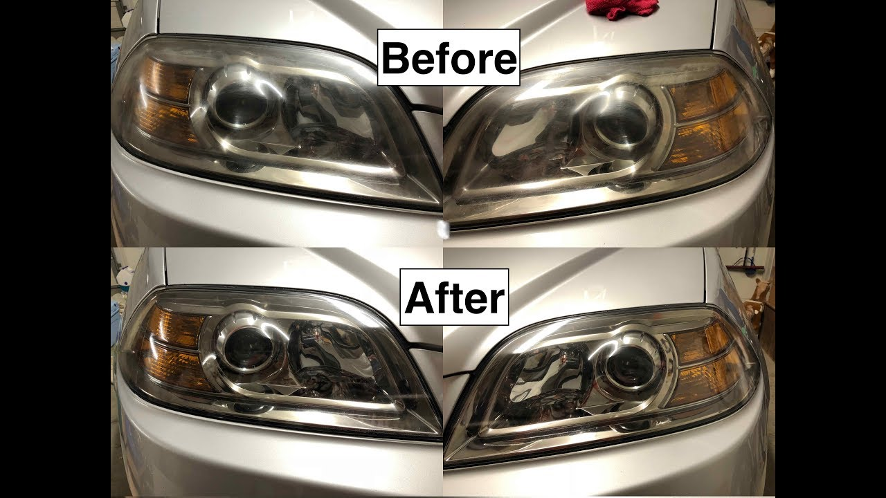 How To Clean Oxidized Cloudy And Scratched Headlights Turtle Wax