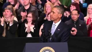 Obama Proposes Free College Tuition- Full Knoxville, TN Speech