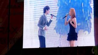 [Fancam] SMTown Live '10 in Seoul - Zhoumi and Luna's duet