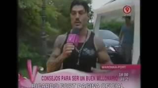 Ricardo Fort - Entrevista en mansión de Mar Del Plata