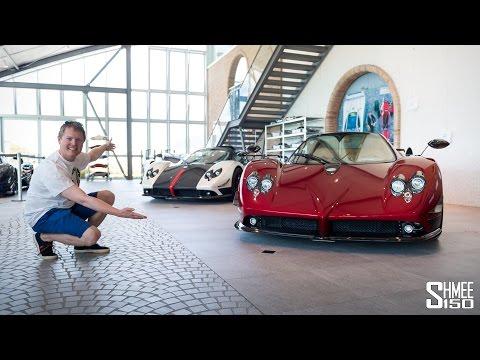 The £100 MILLION Pagani Collection!