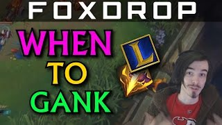 When / Where to Gank and When to Farm as a Jungler - League of Legends