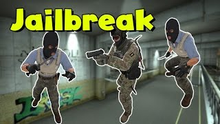 CS:GO - Jailbreak Funny Moments
