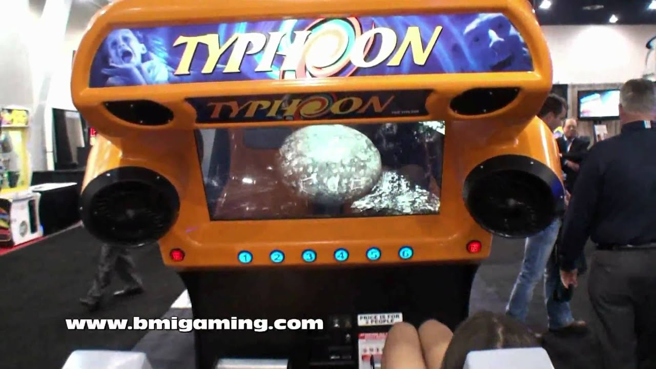 Typhoon Motion Simulator Ride (Mad Wave Motion Theater) - BMI ...