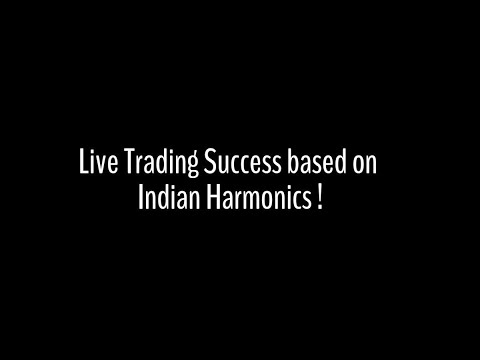 Live Trading Success - Based on Indian Harmonics !
