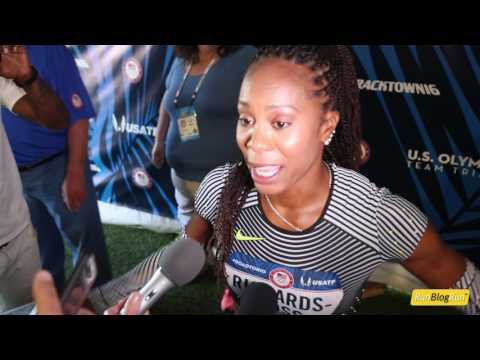 Sanya Richards-Ross @ 2016 USA Olympic Trials (day 2)