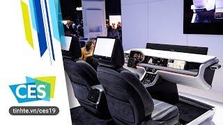 #CES19: Trên tay hệ thống xe thông minh Samsung Car: an toàn, thông tin giải trí và kết nối