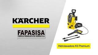 Hidrolavadora línea hogar K3 Premiun - Kärcher FAPASISA Paraguay