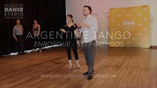 Argentine Tango // Enrosque. Combination of Steps