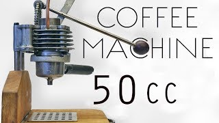 Italian Espresso From Engine Parts • How to make it