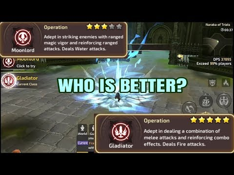 Gladiator or Moon Lord? For Ladder PVP   Dragon Nest M SEA