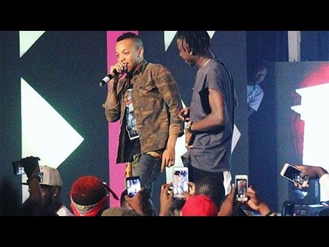 Tekno performs 'Diana' & 'Pana' with Stonebwoy @ Ghana Rocks 2016 | GhanaMusic.com Video