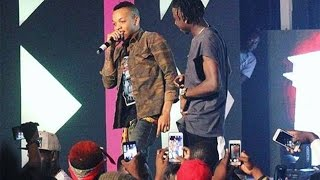 Tekno performs