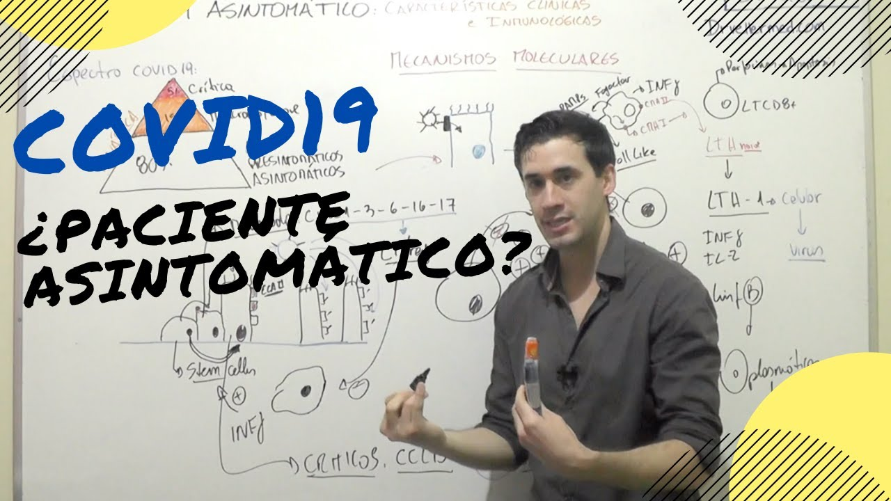 COVID-19 ¿PACIENTE ASINTOMÁTICO? - YouTube