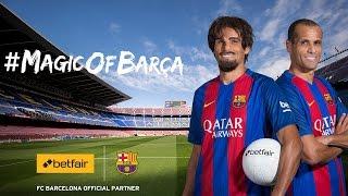 Undercover Rivaldo surprises FC Barcelona Fans