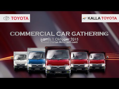 Commercial Car Gathering Toyota With SALANG PACCARITA