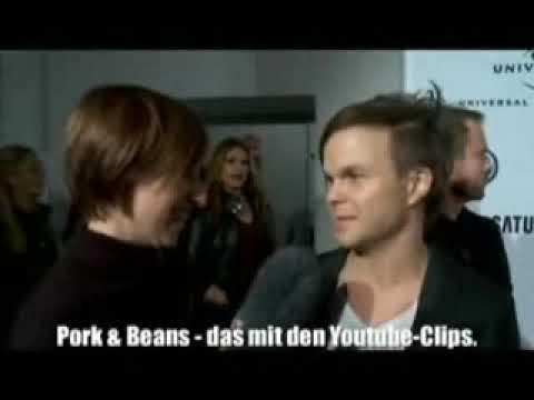 The Rasmus  -  Lauri Ylönen short interview at Europe Music Awards 2009
