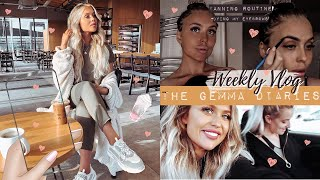 WEEKLY VLOG: Croatia Prep/Packing, Tanning Routine, Dying my Eyebrows, Mini Primark Haul + more