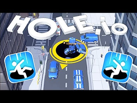 Hole.io - Eat An Entire City | Android Gameplay | Friction Games android games 2018