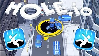 Hole.io - Eat An Entire City   Android Gameplay   Friction Games android games 2018