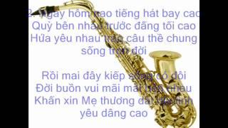 Diễm Tình Ca   3. Saxofone Trần Hoàng Huân.wmv