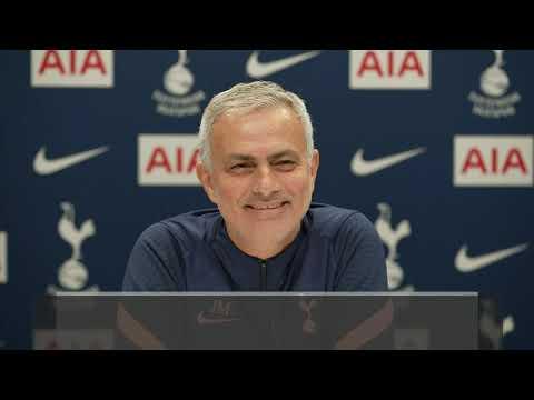 Jose Mourinho impersonates washing machine