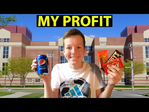 How Much I Make Per Day Selling Candy At School!