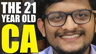 HOW TO BECOME A CA IN 1st ATTEMPT | 21 Year OLD CA's INTERVIEW 🔥