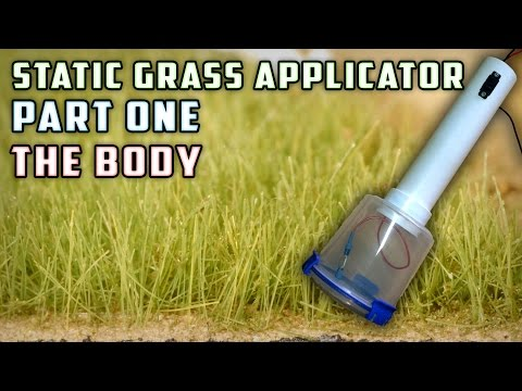 Static Grass Applicator (Body) – How To – Model Railroad
