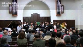 Minami Jazz Vocal Ensemble 2014 directed by Kaoru Azuma Osaka, Japa...