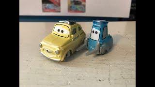 Disney Cars Fireball Beach Racer Luigi and Guido Review
