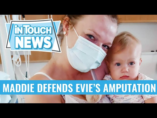 Sister Wives' Maddie Brown Defends Daughter Evie's Amputation Surgery