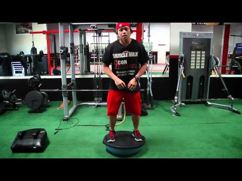 Fast Lap Fitness: Stability Training With A Bosu Ball - TransWorld MOTOcross