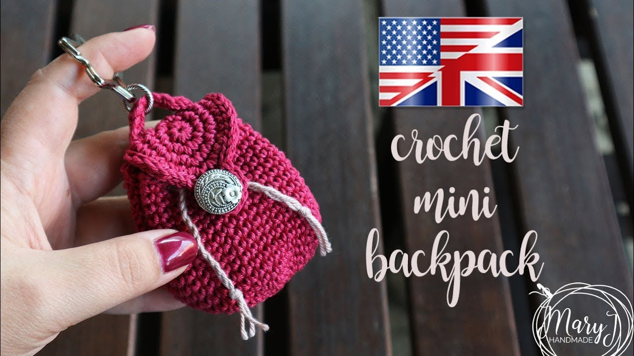 Free Crochet Pattern for Beginners Coin purse | 720x1280