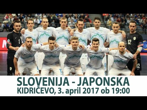 Slovenija - Japonska, 03. 04. 2017