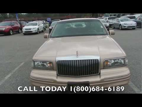 1996 Lincoln Town Car Review Signature For Ravenel Ford 58k Miles Charleston