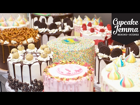 Save Behind the Scenes at Crumbs & Doilies CAKES | Cupcake Jemma Pics