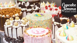 Behind the Scenes at Crumbs & Doilies CAKES | Cupcake Jemma