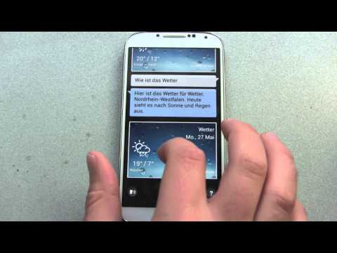 Samsung Galaxy S4 S Voice Review