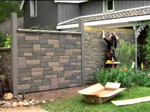 NextStone™ Garden Rock Wall Installation