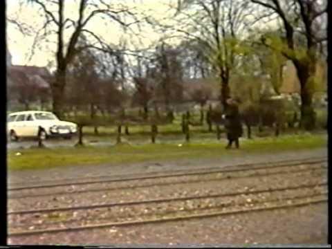 Letzte Fahrt der Kleinbahn Herford GmbH mit Musik von und mit James Last