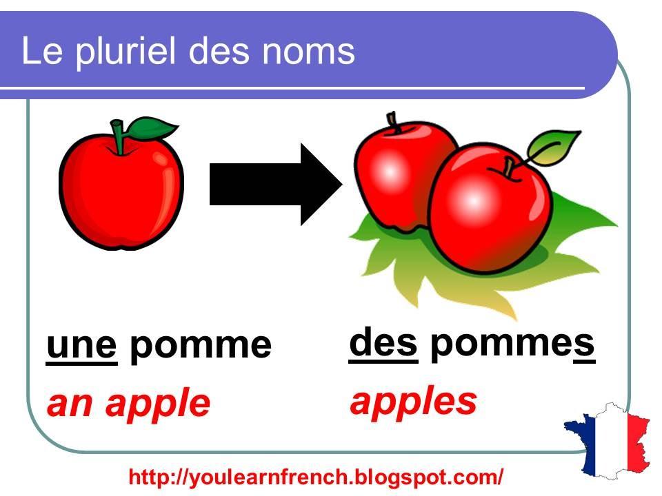 Francais plural