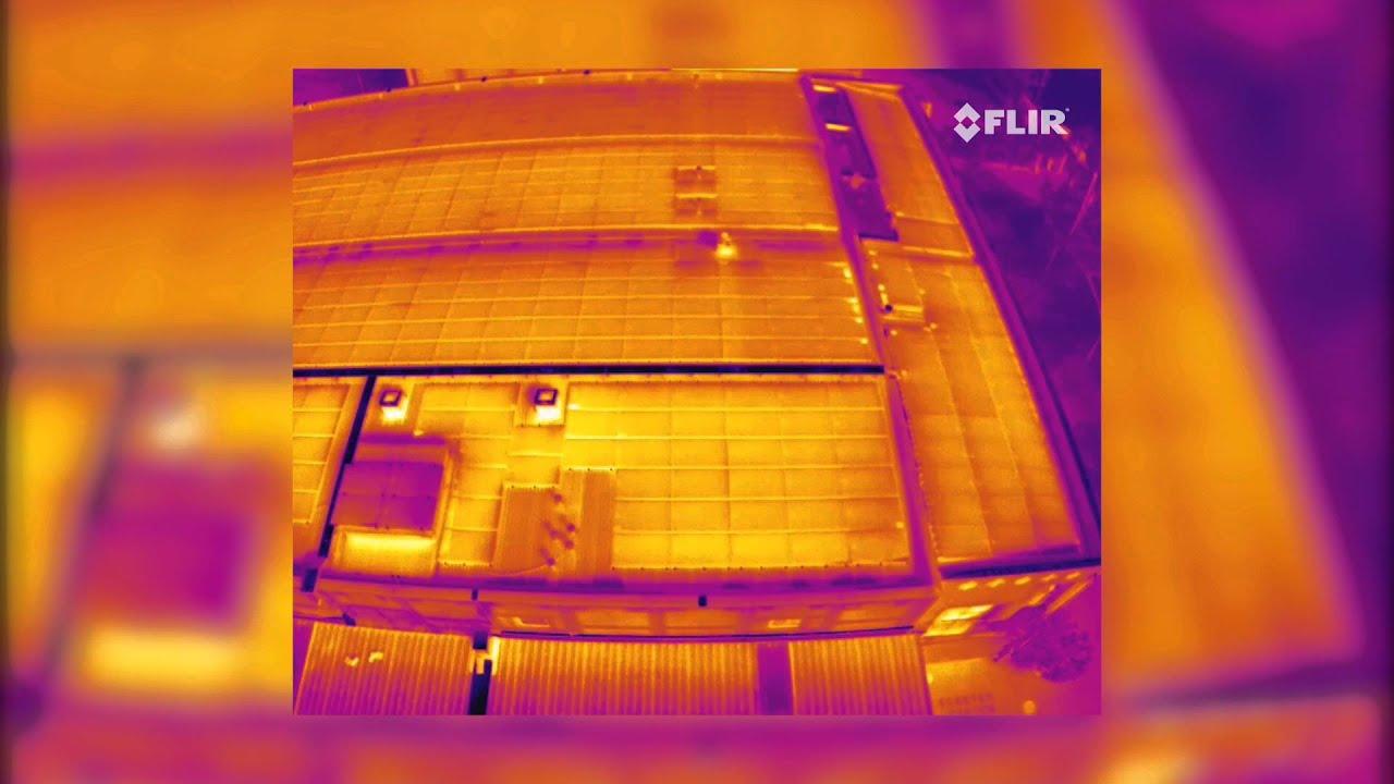 Flir Vue Pro Solar Panel Inspection With Uav Youtube