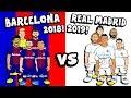 🔵🔴BARCELONA 2018 vs REAL MADRID 2019⚪⚪ 5-a-side CHALLENGE!